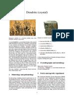 DendritES FORMATION