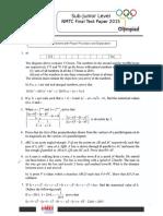 NMTC Final Paper 2015 Std7 8