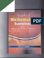 John Onimisi Obidi_applied Mathematics Sustained_2008 Re-print_university Press
