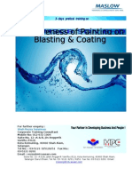 Effectiveness of Painting on Blasting & Coating