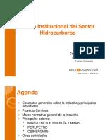 Carlos Gomero Marco Institucional Hidrocarburos