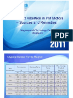 Noise and Vibration in PM Motors – Sources and Remedies