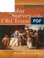 A Popular Survey of the Old Tes - Norman L. Geisler