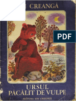 Ursul Pacalit de Vulpe - Ion Creanga (Ilustratii de Ileana Ceausu-Pandele)