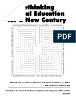 Rethinking Special Education for a New Century