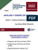 07. Sem7 20160929 - Análisis de Sistemas - DSD, LS, DD