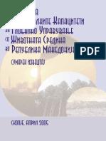 Samoocenka na nacionalnite kapaciteti za globalno upravuvanje so zivotnata sredina vo Republika Makedonija