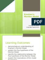 Krashen's Monitor Model