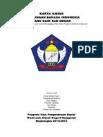 Contoh Artikel Ilmiah bahasa indonesia