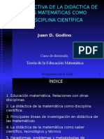 Did. Matemática-Godino 2
