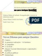 Deficiência Intelectual Bianca Santos