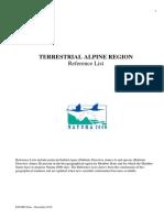 Alpine Ref List