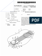 U.S. Patent Pub. 2016-140941A1, entitled Device for vibrating a stringed instrument, to Kobayashi, May 19, 2016.pdf