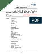 Health Fac Briefing Cardiac Investigation Unit Qh-gdl-374-5
