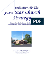 Pastors Directors Five Star Church Strategy