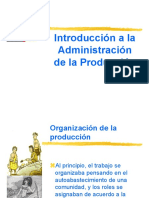 Introduccion a La Admon de La Produccion Trabajo