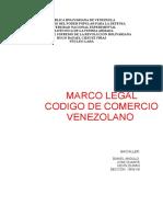 Informe Del Codigo de Comercio