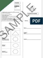 8th Sample Paper