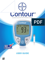 Bayer Contour User Manual