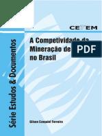 Sed-50_a Competitividade Da Mineração de Ferro No Brasil