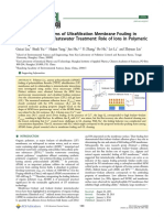 Molecular Mechanisms of Ultrafiltration Membrane Fouling