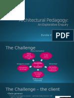 Architectural Pedagogy