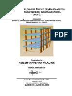 Memoria de Calculo Estructural Edificio de Cuatro Plantas- Helier Chaverra Palacios - Copia