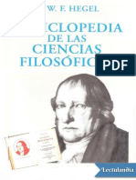 Enciclopedia de las Ciencias Filosoficas - Georg Wilhelm Friedrich Hegel.epub