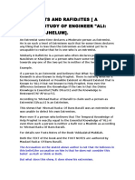 A Critical Study of Engineer Ali Mirza