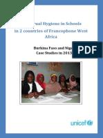 MHM Study Report Burkina Faso and Niger English Final