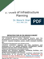 2. Goals of Infrastructure Planning (1)