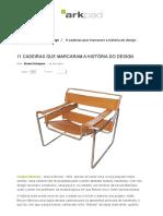 11 Cadeiras Que Marcaram a História Do Design - Arkpad