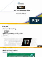 ANSYS Multiphysics Capabilities