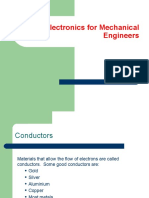 Electronics for Mechanical Engineers
