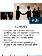 Financial Statements PPT