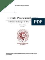 OA Curso 2013 - Processual Civil