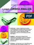 FAKTORSKA ANALIZA-prezentacija