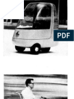 Suburban Runabout Three Wheel Scooter