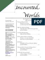 UW001 - Uncounted Worlds Issue 1