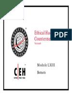 CEHv6 Module 63 Botnets