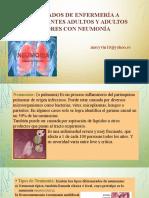 Cuidados de Enfermería a Pacientes Con Neumonia