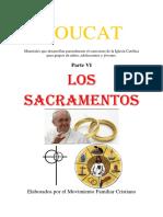 Materiales Youcat para niños, adolescentes y jóvenes. Youcat VI 2016-2017. Sacramentos