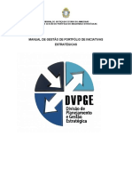 Manual de Gestão de Portfólio de Iniciativas Estratégicas