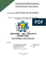 Informe-semaforo Sistemas Digitales