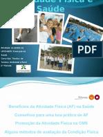 Promoção de Atividade Física e Saúde
