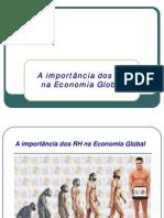 A Importância dos Recursos Humanos na Economia Global