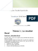 Document de Fiscalite Approfondie -Master Mco 2015-2016