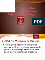 131850027 Ongc International Business Expansion Strategy