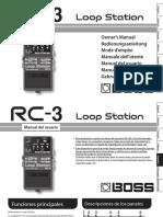 Boss RC-3 Manual Español