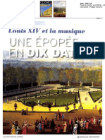2015-08-25 - Louis Xiv Et La Musique en 10 Dates - Classica